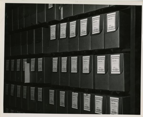 Stone, Irving Papers collection later transferred to UC Berkeley