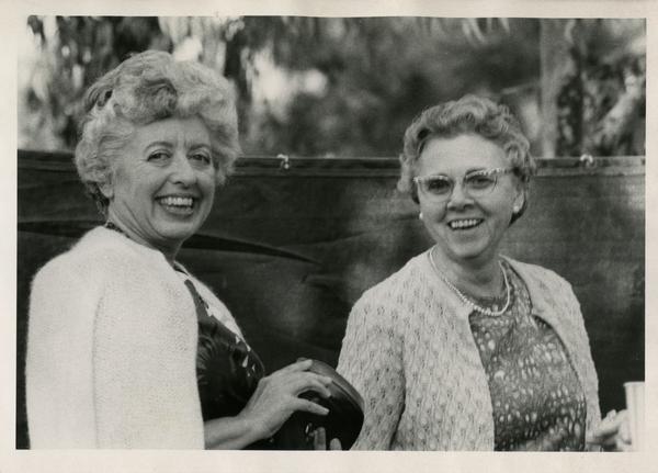 Norah Jones and Esther Koch, ca. 1965