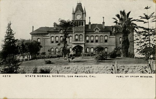 Exterior of the Los Angeles Normal School