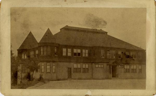 Side exterior of the Los Angeles Normal School