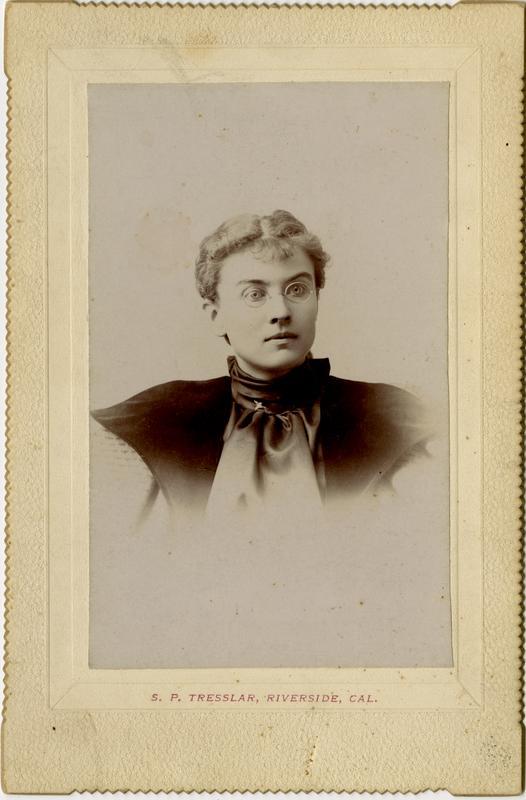 Portrait of Nellie B. Loveland, 1894