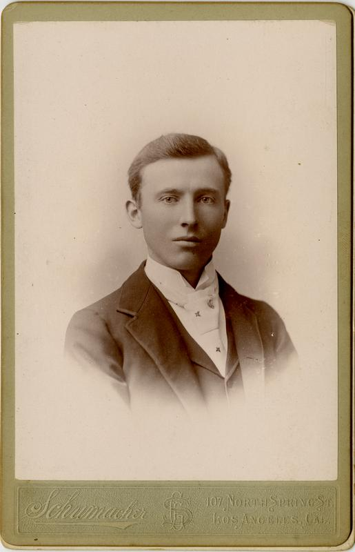 Portrait of Roy J. Young, 1894