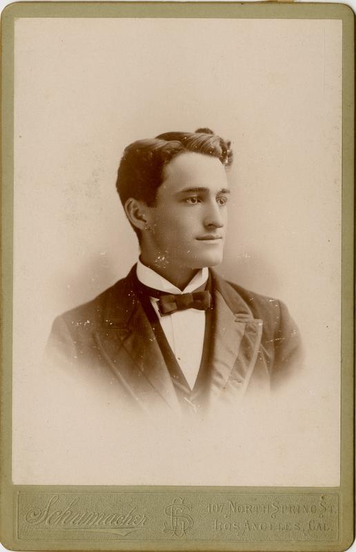Portrait of Elmer E. Nichols, 1894