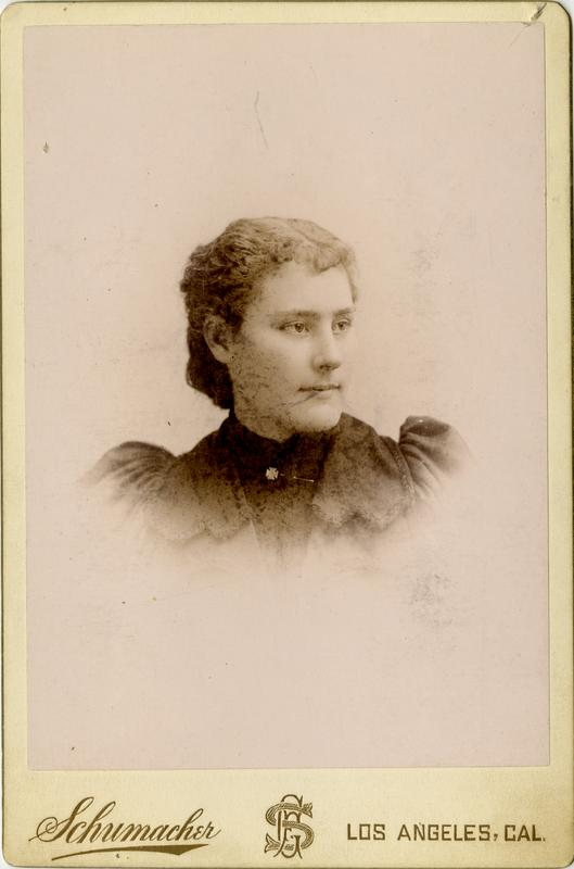 Portrait of Daisy C. Reeves, 1894