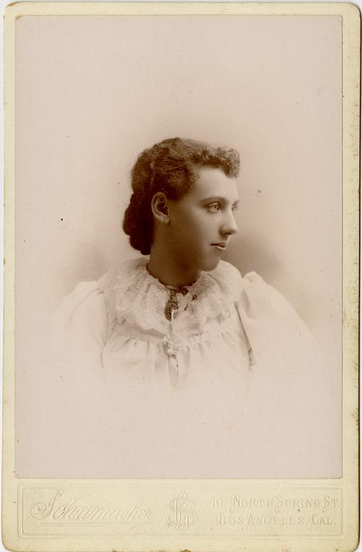 Portrait of Phronia F. Peckham, 1894