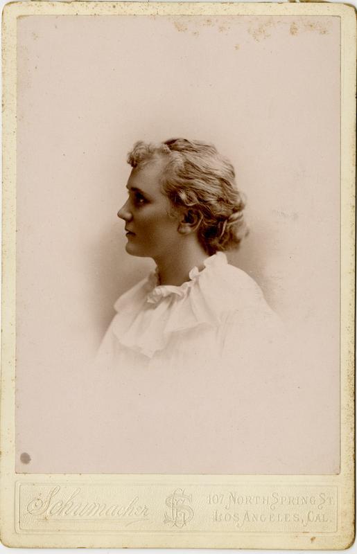 Portrait of Anne M. Baker, 1894