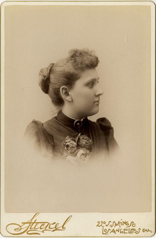 Portrait of Lizzie E. Batchelder, 1891