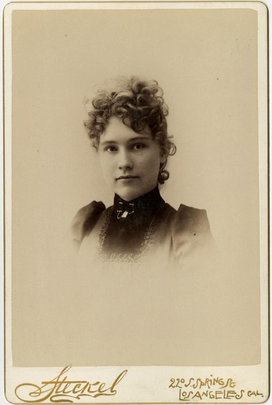 Portrait of Lenora Johnson, 1891
