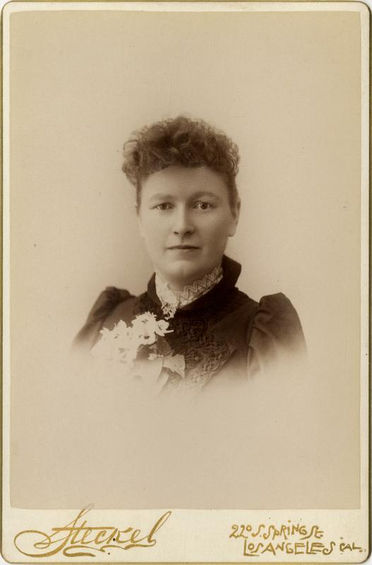 Portrait of Nellie J. Taylor, 1891
