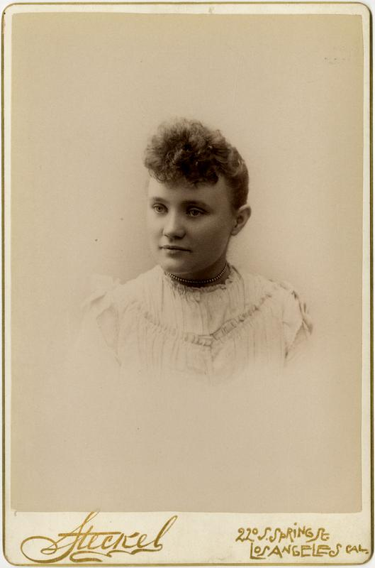 Portrait of Kate A. Clark, 1891