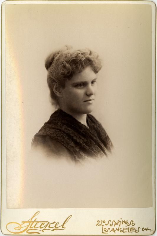Portrait of S. Alice D. Goodrich, 1891