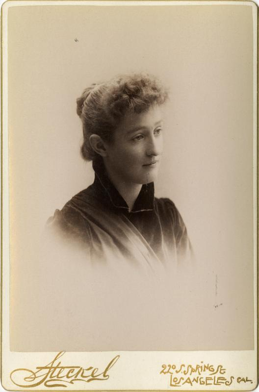 Portrait of Cara Merritt, 1891