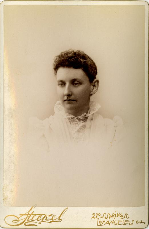 Portrait of Luella Palmer, 1891