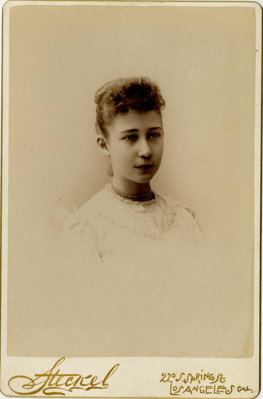 Portrait of Ina Wright, 1891