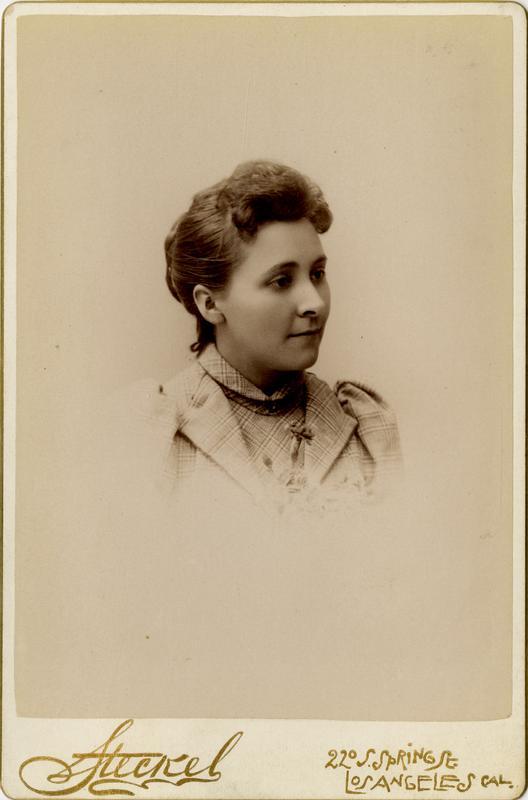Portrait of Rose E. Cowan, 1891