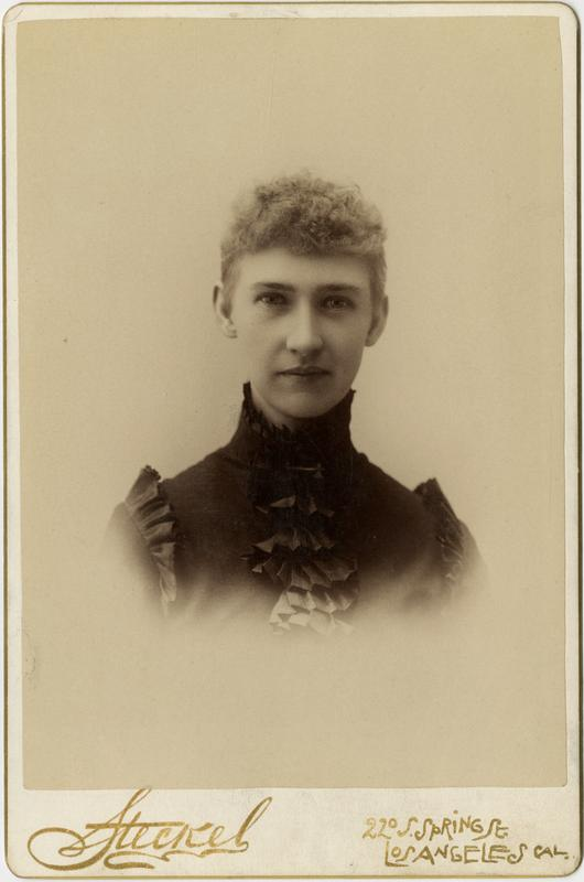 Portrait of Olive Pierpont, 1891