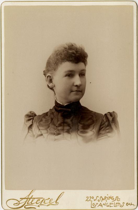 Portrait of Harriet Hanlon, 1891