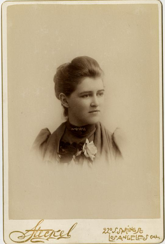 Portrait of Emma M. Boor, 1891