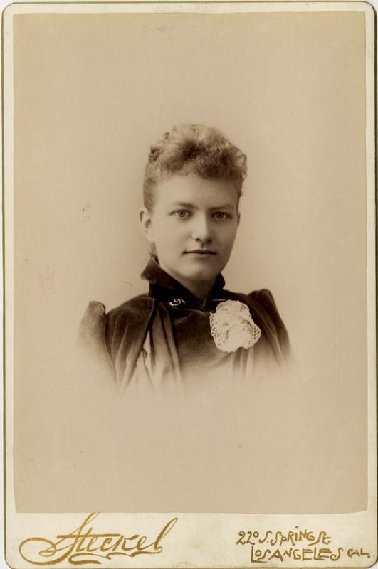Portrait of Mabel Pease, 1891