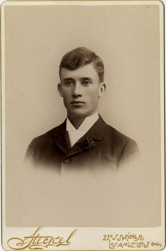 Portrait of Lewis R. Tarr, 1891