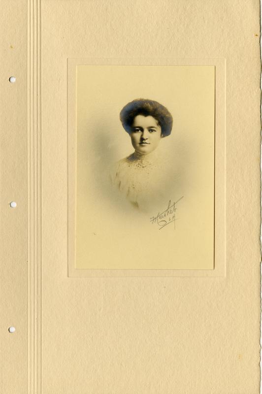 Portrait of student