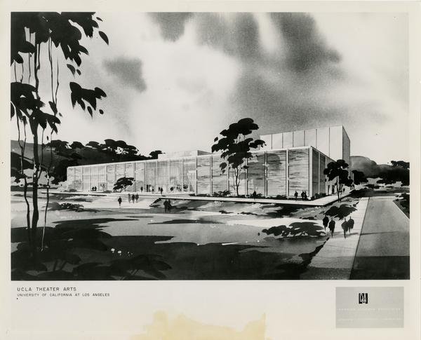 Architectural rendering of MacGowan Hall