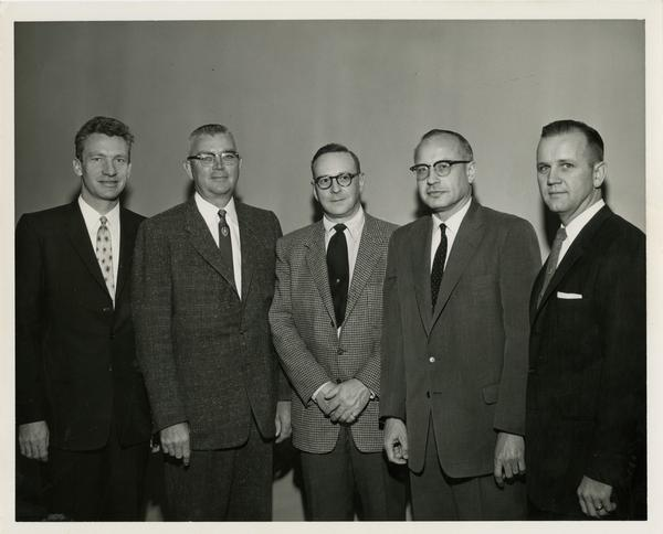 Photo of Executive Program faculty, 1959