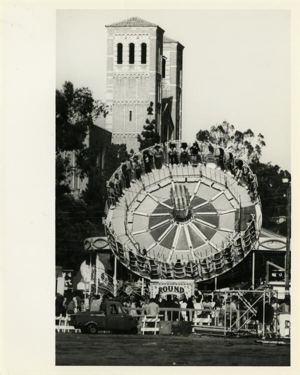 Mardi Gras celebration at UCLA