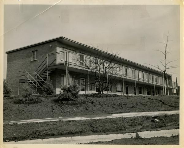 Married student housing, ca. 1957