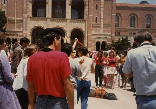 Chicano Studies Research Center protest, May 30, 1993