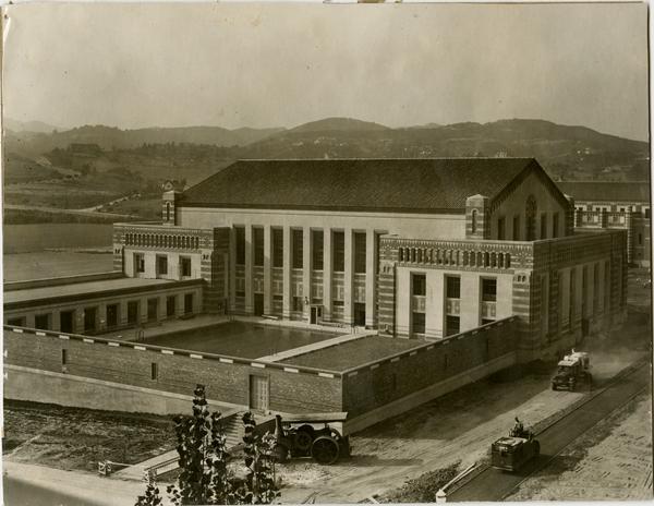 Exterior view of Men's Gymnasium, September 1932
