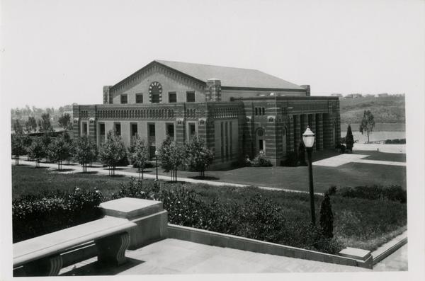 Exterior view of Men's Gymnasium