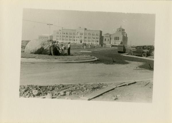 Construction of Westwood campus