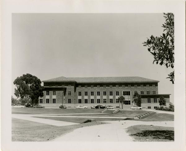 Exterior view of Murphy Hall, June 1952