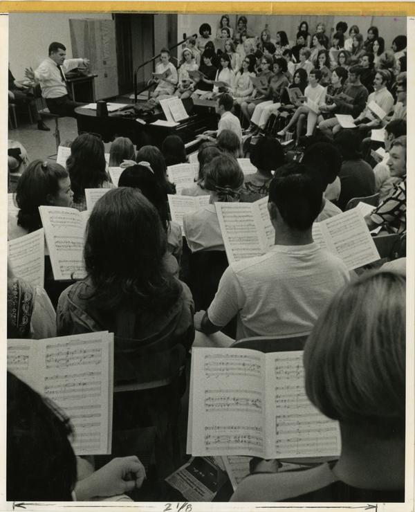 Class in Music Department