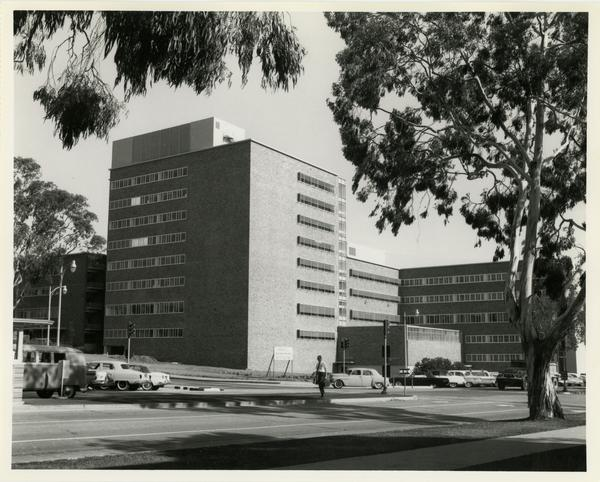 Exterior view of Neuropsychiatric Institute, ca. 1961