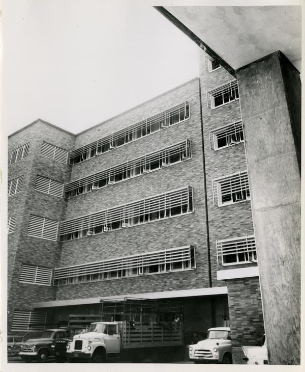 Exterior view of Neuropsychiatric Institute, September 7, 1960