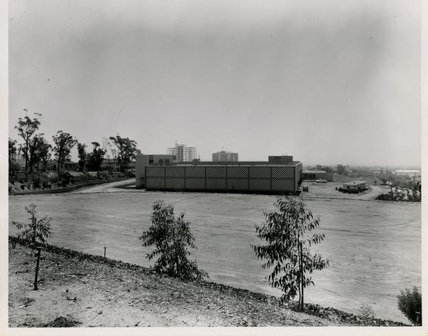View of Nuclear Medicine and Radiation Biology Laboratory, ca. 1962