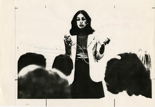 Image for School of Nursing brochure, 1982