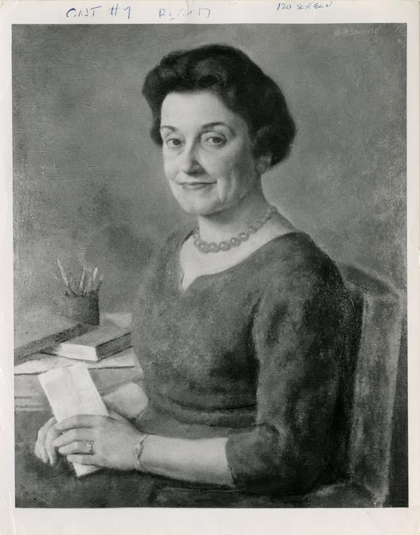 Portrait of woman affiliated with School of Nursing