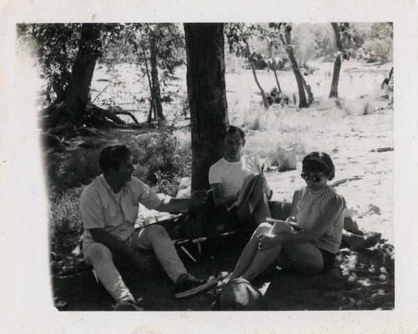 Camping trip in Oak Creek Canyon, Arizona, ca. 1966