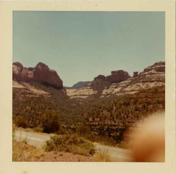 Camping trip in Oak Creek Canyon, Arizona, ca. 1966
