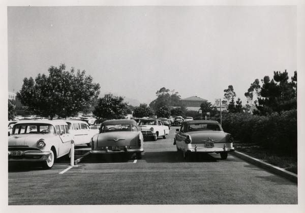 View of UCLA parking lot