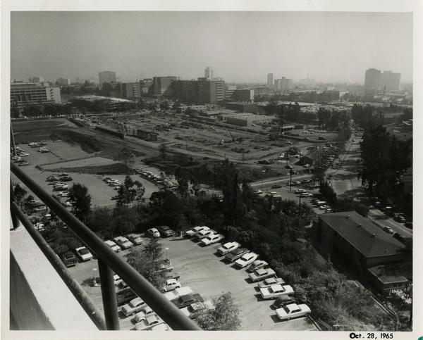 Site of Parking Structure H, October 28, 1965