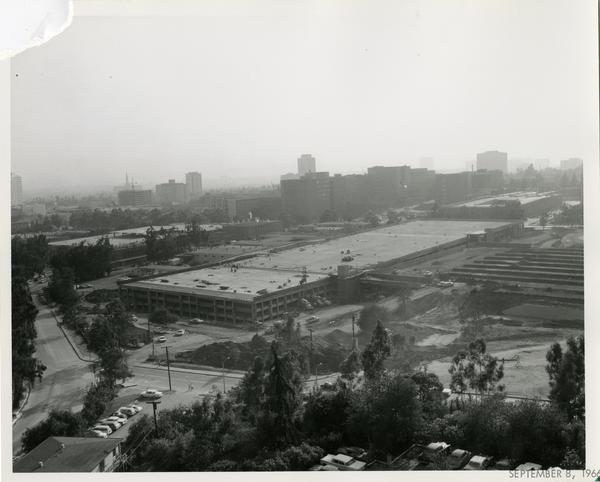Site of Parking Structure H, September 8, 1966