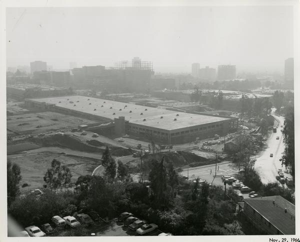 Site of Parking Structure H, November 29, 1966