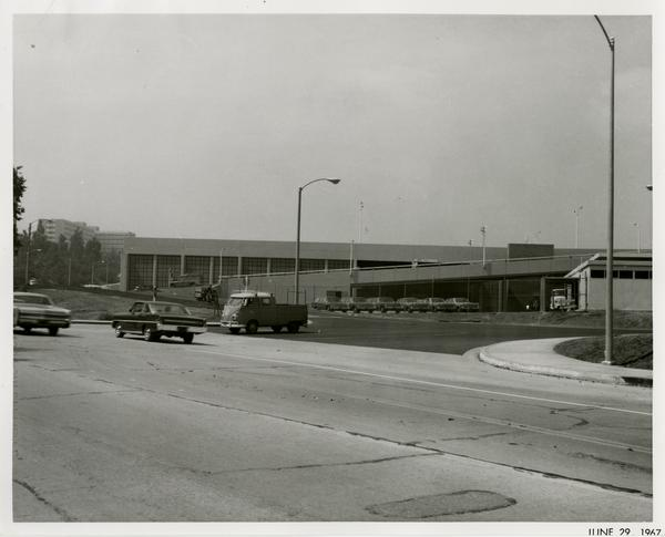 Site of Parking Structure H, June 29, 1967
