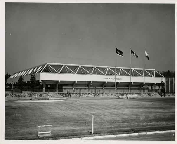 View of Pauley Pavilion, ca. 1965