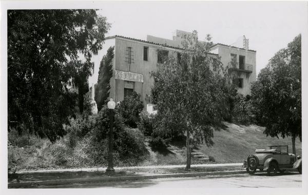 UCLA Phi Beta Delta Fraternity house