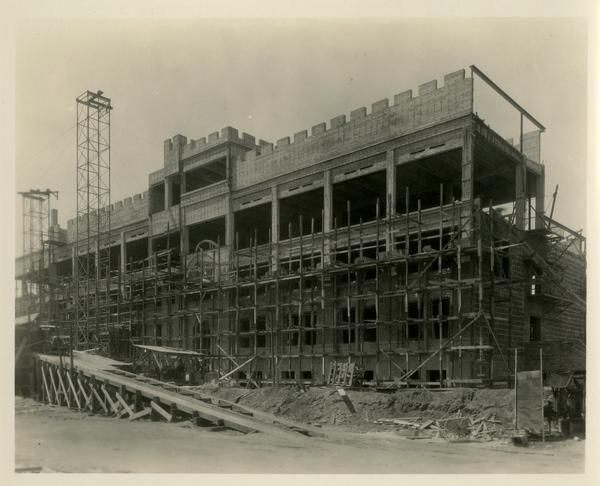 Construction of Kinsey Hall
